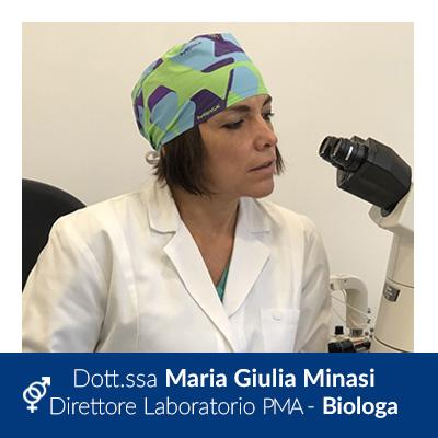 Dott.ssa Maria Giulia Minasi - Medicina della Riproduzione - Villa Mafalda
